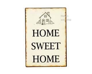 Ib Laursen   Schild Blechschild Metallschild Deko, Home Sweet Home