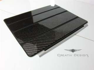 ECHT CARBON für Ipad 2   Smart Cover Case Schutz Hülle