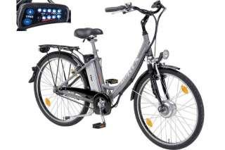 TOP PROPHETE Elektro Fahrrad Alu Rex 28 E Bike Pedelec LED SRAM Nabe