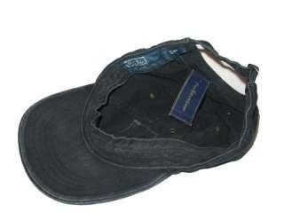 POLO RALPH LAUREN MENS BLUE BLACK BALL CAP HAT one size