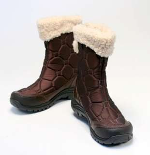 UGG Meridian Womens Chocolate Brown Sheepskin Snow Boot Size 5 US New