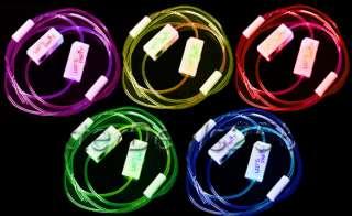 Mode LED Light Up Colorful Shoelaces Flash Glow Strap