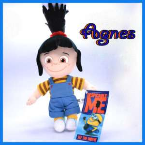 DESPICABLE ME Doll PLUSH Toy Grus little Girl AGNES