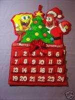 Spongebob Sponge bob Patrick Christmas advent Calendar