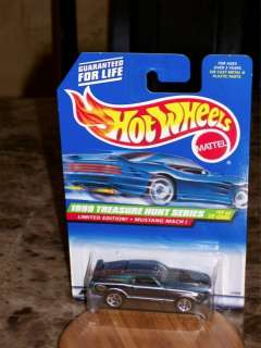 1999 Hot Wheels Mustang Mach 1 Treasure Hunt