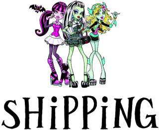 Monster High Skullette 6 piece Set Vinyl Sticker/Decal Plus 1 FREE