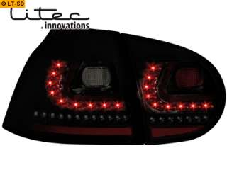 DECTANE Litec LED Rückleuchten VW Golf 5 schwarz smoke 4260179247576