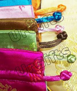 30 pcs Gorgeous Wholesale Chinese Silk Gift Wrap Bags