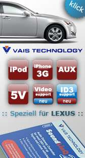 xcarlink USB iPod,  aux adapter Artikel im maxxcount Car