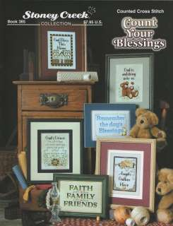 Stoney Creek COUNT YOUR BLESSINGS CROSS STITCH PATTERN