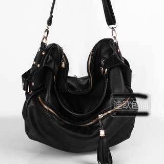 Western Women Tassel Shoulder Bags Handbag Tote Hobo wO