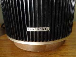 VINTAGE ROUND PANASONIC SPEAKERS MODEL SB 84 HI FI MID CENTURY EAMES