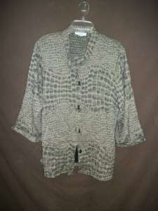 Plus Size LOT of 9 Womens STYLISH CASUAL Button Up Shirts Size 3XL 22