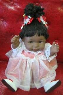AFRICAN AMERICAN BERENGUER DOLL ALL DRESSED UP #40 05