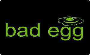 BAD EGG*Funny T Shirt PUNK ROCK EMO GOTHIC Black Sheep