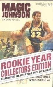 MAGIC JOHNSON, FIRST YEAR WITH LAKERS COLLECTORS ED.