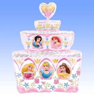 Supershape Foil Balloon Disney Princess   Princess Cake