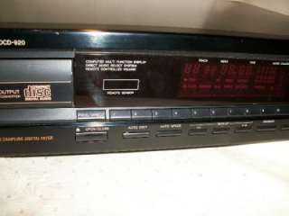 DENON DCD 920 CD PLAYER, FOR SPARES OR REPAIR
