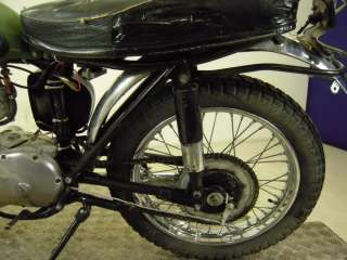 Circa 1963 Triumph T20 Tiger Cub Trials Un Registered US Import For