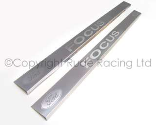 Accessories   Ford Logo Sill Protectors for Ford Focus Mk1 (2 door