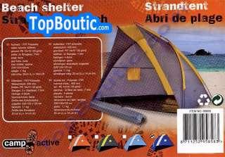 ici grand abri de plage tente dome parasol jardin coloris bleu marine
