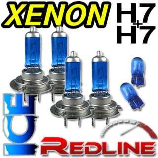 BLUE Xenon High/Low Beam Bulbs H7/H7 BMW 1 Series E87