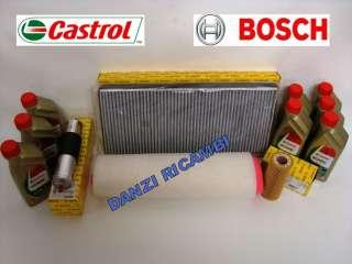 TAGLIANDO BOSCH BMW X5 3.0d DIESEL (E53) + OLIO CASTROL EDGE LONGLIFE
