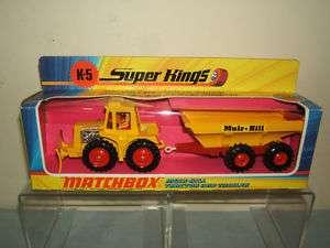 MATCHBOX SUPER KINGS No.K 5 MUIR HILL TRACTOR MIB
