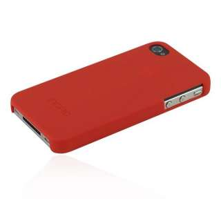 Incipio Feather Case iPhone 4 4S Matte Red   includes screen guards