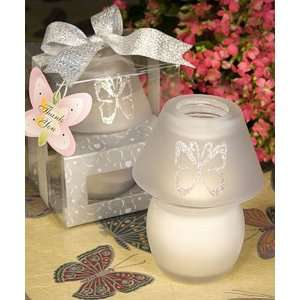 Bridal Shower / Wedding Favors : Butterfly Design Candle Lamp Favors
