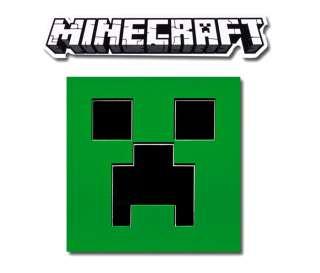 Aufkleber Sticker Minecraft Creeper Gesicht Face Bumper