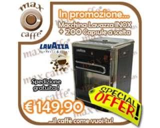 Macchina Lavazza INOX + 200 Capsule a scelta a Padova    Annunci