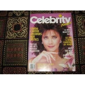 Celebrity Focus Magazine (Lynda Carter , Phyllis Diller , Agent 007