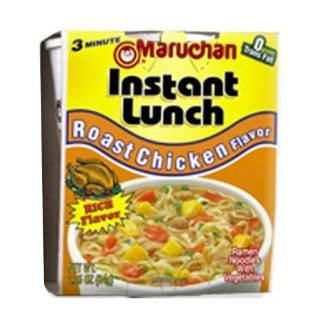 Maruchan Instant Lunch, Roast Chicken, 2.25 Ounce Packages (Pack of 12