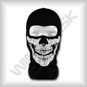 Biker Totenkopf Skull Face Motorrad Maske Sturmhaube Skimaske