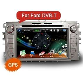 AUTORADIO GPS 7 TV DVB T HD DVD PER FORD S MAX USB/SD TOUCHSCREEN RDS