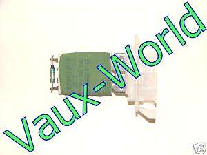 Vauxhall VECTRA SIGNUM HEATER BLOWER FAN RESISTOR   NEW