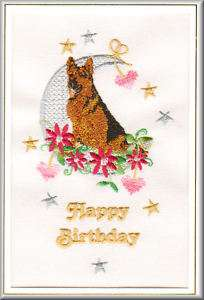 German Shepherd Dog Birthday Card by Dogmania   FREE PERSONALISATION