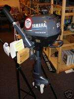 Yamaha F2.5 hp Four Stroke Outboard Motor Engine 4 2.5