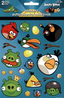 Angry Birds 2 Sheet Sticker Pack