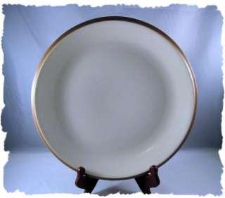 Dansk Dinnerware Santiago White Beige Chop Plate