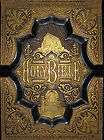 BIBLE Leather Antique GUSTAVE DORE 1891 OBER PA Victorian TINTYPES