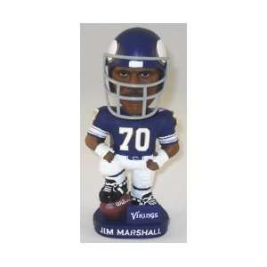 Jim Marshall Minnesota Vikings AG Bobblehead ! Sports