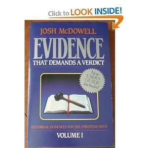 Demands a verdict (Volume 2) (9781872059068): Josh McDowell: Books