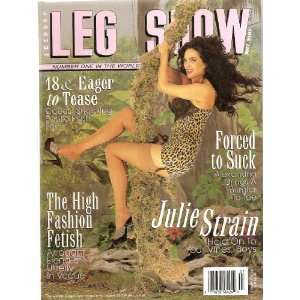 LEG SHOW MAGAZINE JULY 1997 JULIE STRAIN: LEG SHOW: Books