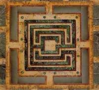Richard Blow Montici pietra dura mosaic Pisces LISTED