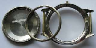 Gent Oval shaped Stainless Steel Watch Case Solvil &Titus Geneve