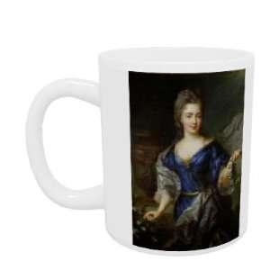 Marie Anne de Bourbon (1666 1739) Princess of Coni (oil on canvas) by