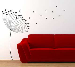 Our Dandelion wall art sticker will make a great addition to add an