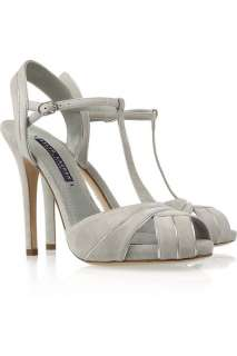 Ralph Lauren Collection Jalie suede T bar sandals    Now at THE